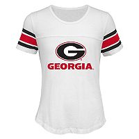 Girls 7-16 Georgia Bulldogs Team Pride Burnout Tee