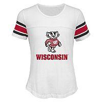 Girls 7-16 Wisconsin Badgers Team Pride Burnout Tee