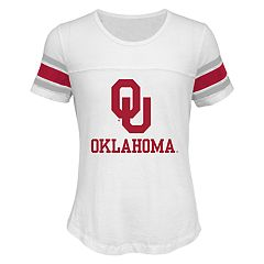 Girls 7-16 Oklahoma Sooners Team Pride Burnout Tee