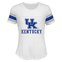 Girls 7-16 Kentucky Wildcats Team Pride Burnout Tee