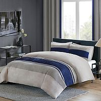 Madison Park 3 pc Clark Duvet Cover Set