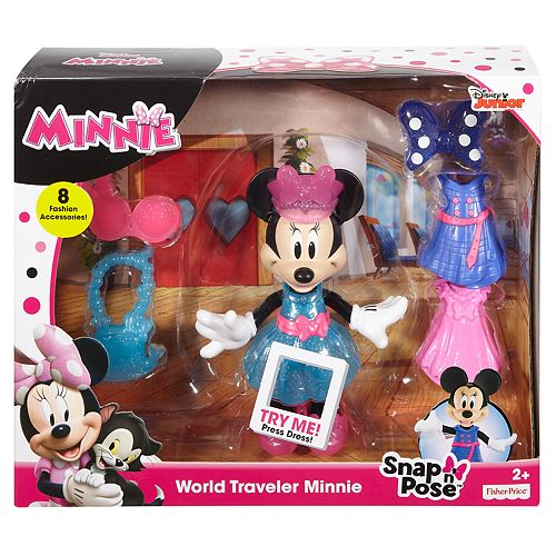 Disney's Minnie Mouse: World Traveler Minnie by Fisher-Price
