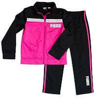 Toddler Girl Puma 2-pc. Track Pants & Jacket Set