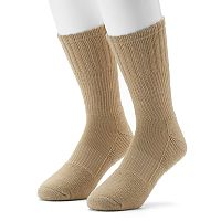 Men's GOLDTOE PowerSox 2-pack Midweight Crew Socks