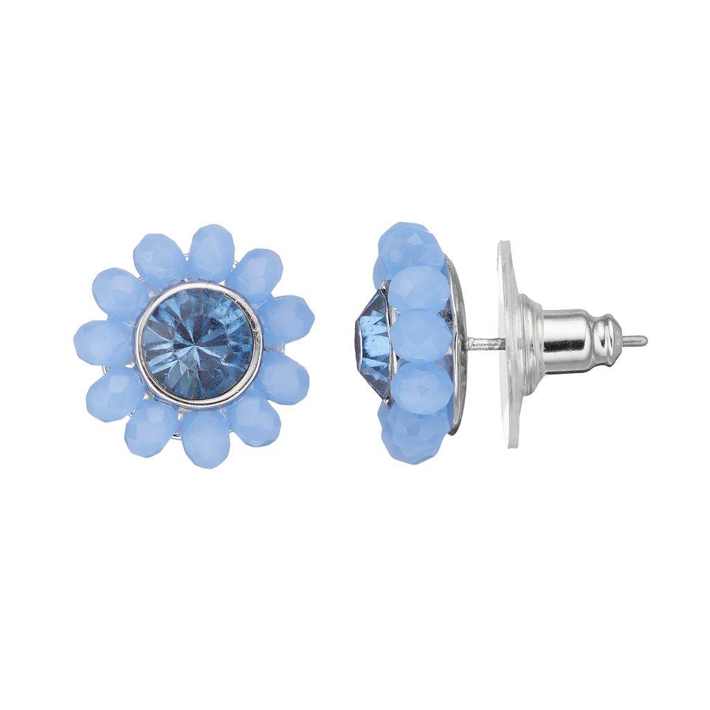 Simply Vera Vera Wang Flower Nickel Free Stud Earrings