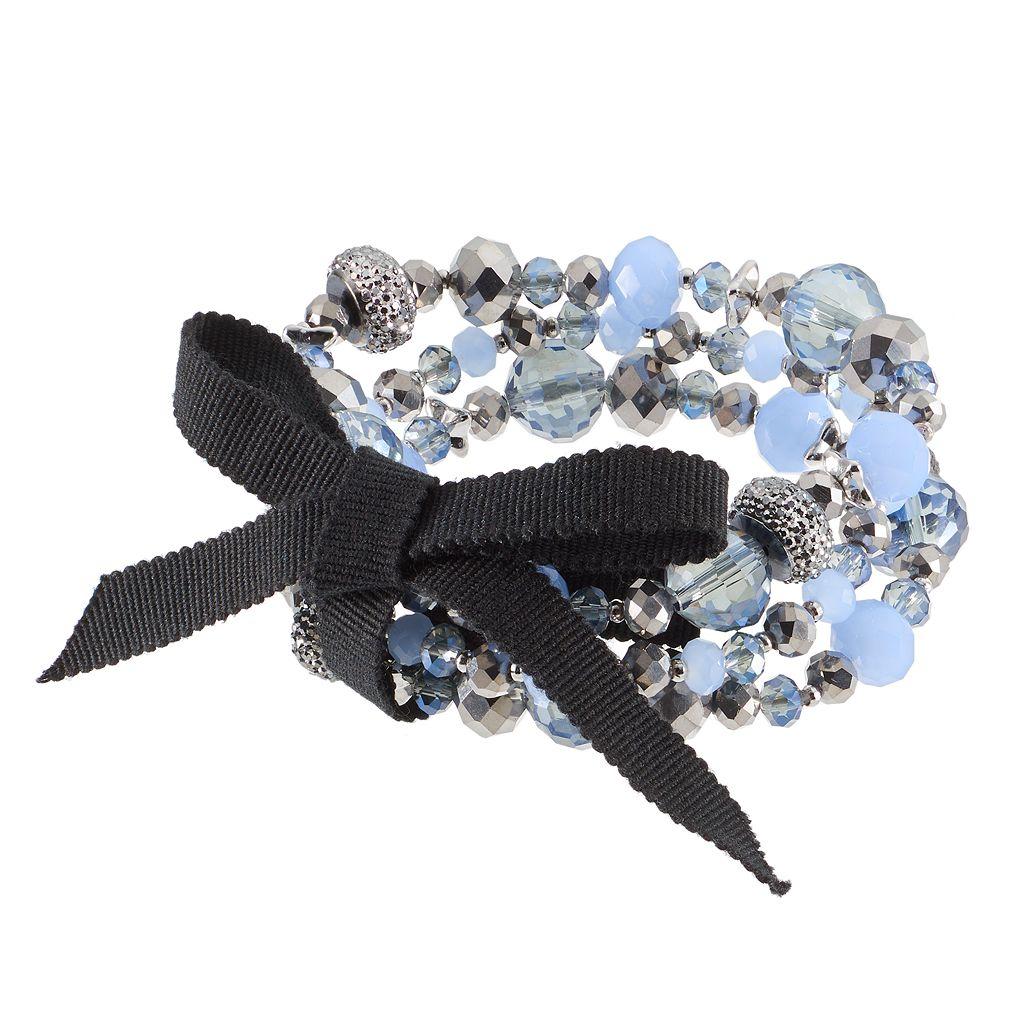 Simply Vera Vera Wang Beaded Stretch Bracelet Set