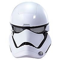 Star Wars: Episode VIII The Last Jedi First Order Stormtrooper Electronic Mask with Voice Amplifier