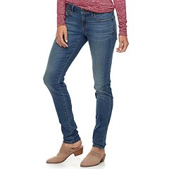 Women's SONOMA Goods for Life™ Supersoft Midrise Stretch Curvy Skinny Jeans