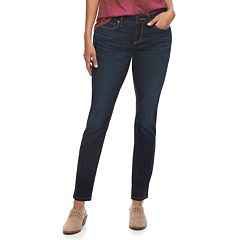 Women's SONOMA Goods for Life™ Supersoft Stretch Curvy Skinny Jeans
