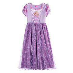 Disney's Rapunzel Girls 4-8 Tulle Skirt Dress-Up Nightgown