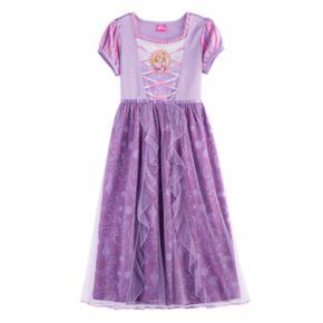 Disney's Rapunzel Girls 4-8 Tulle Skirt Dress-Up Nightgown