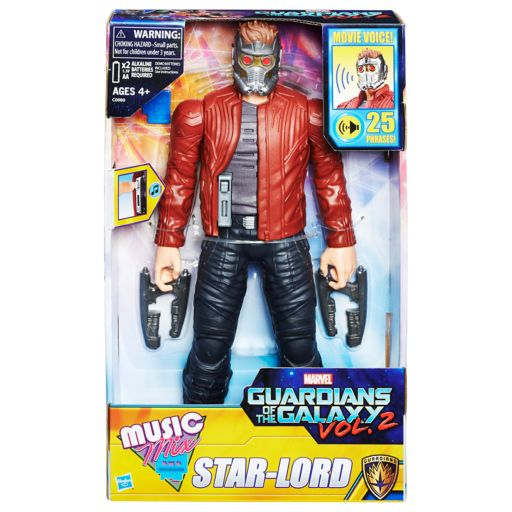 Marvel Guardians of the Galaxy Electronic Music Mix Star-Lord Figure