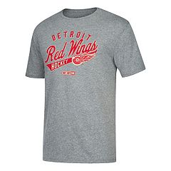Men's CCM Detroit Red Wings Strike First Tee