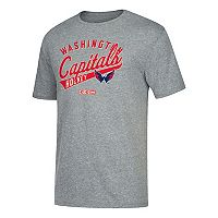 Men's CCM Washington Capitals Strike First Tee