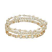 LC Lauren Conrad Beaded Stretch Bracelet Set