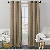 VCNY 2-pack Livingston Solid Foamback Curtain