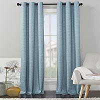 VCNY Livingston Solid Foamback Window Curtain Set