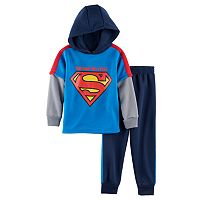 Boys 4-7 Marvel Super-Man 2-pc. Colorblocked