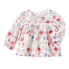 Baby Girl OshKosh B'gosh® Floral Empire Top