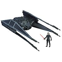 Star Wars: Episode VIII The Last Jedi Force Link-Activated Kylo Ren's TIE Silencer & Kylo Ren TIE Pilot Figure Set