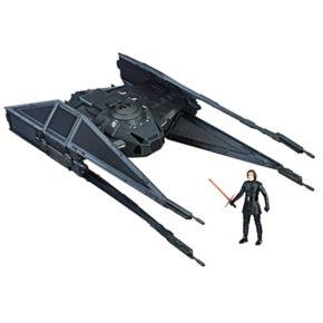 Star Wars: Episode VIII The Last Jedi Force Link-Activated Kylo Ren?s TIE Silencer & Kylo Ren TIE Pilot Figure Set