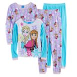 Disney's Frozen Anna & Elsa Girls 4-10 4-pc. Pajama Set