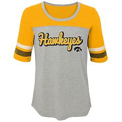 Girls 7-16 Iowa Hawkeyes Fan-Tastic Tee