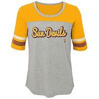 Girls 7-16 Arizona State Sun Devils Fan-Tastic Tee