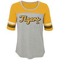Girls 7-16 Missouri Tigers Fan-Tastic Tee