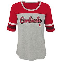 Girls 7-16 Louisville Cardinals Fan-Tastic Tee