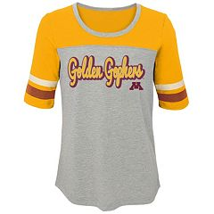 Girls 7-16 Minnesota Golden Gophers Fan-Tastic Tee
