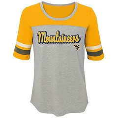 Girls 7-16 West Virginia Mountaineers Fan-Tastic Tee
