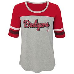 Girls 7-16 Wisconsin Badgers Fan-Tastic Tee