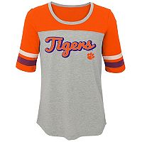 Girls 7-16 Clemson Tigers Fan-Tastic Tee