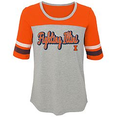 Girls 7-16 Illinois Fighting Illini Fan-Tastic Tee