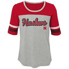 Girls 7-16 Nebraska Cornhuskers Fan-Tastic Tee