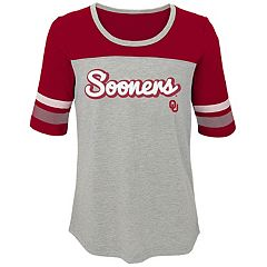 Girls 7-16 Oklahoma Sooners Fan-Tastic Tee