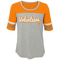 Girls 7-16 Tennessee Volunteers Fan-Tastic Tee