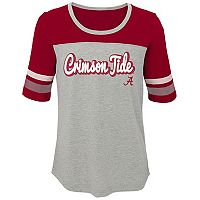 Girls 7-16 Alabama Crimson Tide Fan-Tastic Tee