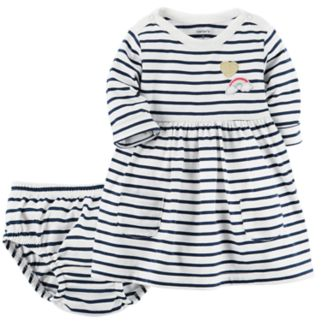 Baby Girl Carter's Striped Knit Dress