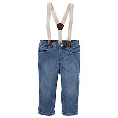 Baby Girl OshKosh B'gosh® Suspender Jeans