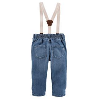 Baby Girl OshKosh B'gosh® Suspender Jeans