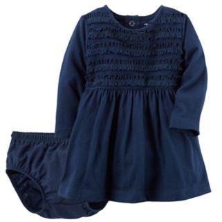 Baby Girl Carter's Ruffle Knit Dress