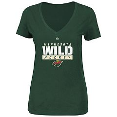 Plus Size Majestic Minnesota Wild Hockey Tee