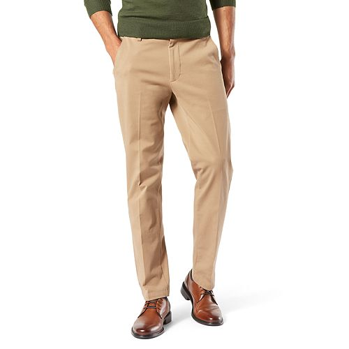 Dockers On-The-Go Straight Fit Light Weight /& Durable Men/'s Stretch Pants $60