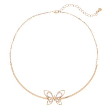 LC Lauren Conrad Butterfly Collar Necklace