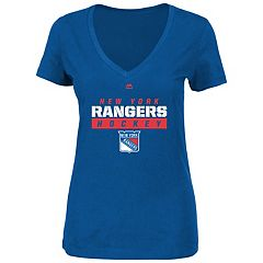 Plus Size Majestic New York Rangers Hockey Tee