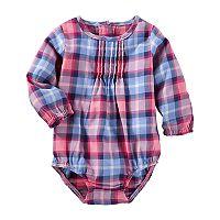 Baby Girl OshKosh B'gosh® Plaid Bodysuit