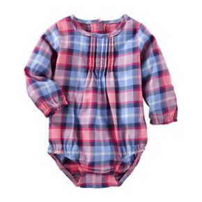 Baby Girl OshKosh B'gosh® Plaid Bodysuit
