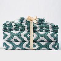 SONOMA Goods for Life™ Trellis 6-piece Bath Towel Set